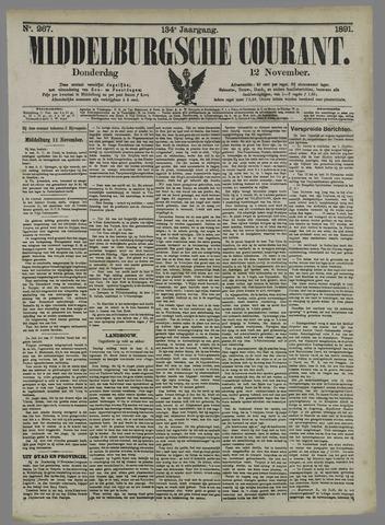 Middelburgsche Courant 1891-11-12