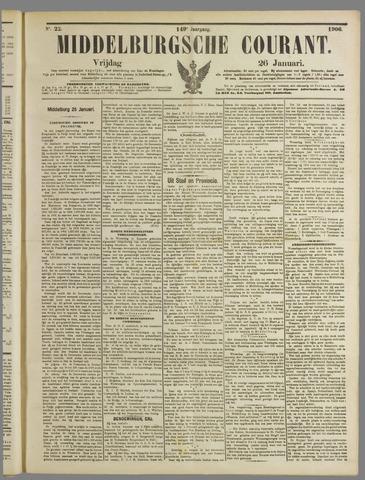 Middelburgsche Courant 1906-01-26