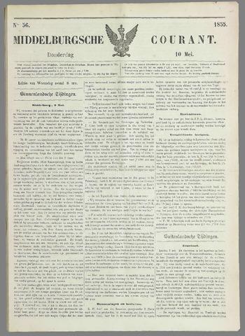 Middelburgsche Courant 1855-05-10
