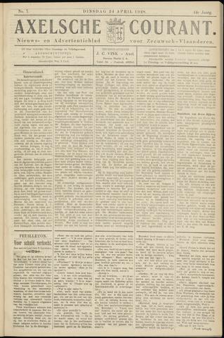 Axelsche Courant 1928-04-24
