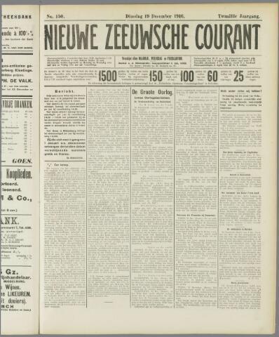 Nieuwe Zeeuwsche Courant 1916-12-19