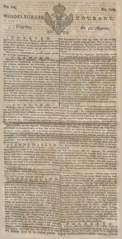 Middelburgsche Courant 1779-08-31