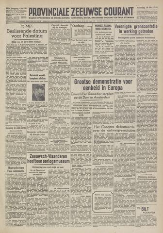 Provinciale Zeeuwse Courant 1948-05-10