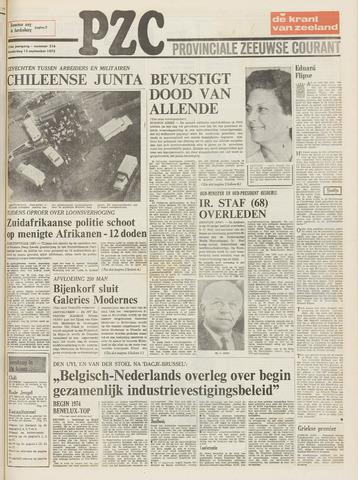 Provinciale Zeeuwse Courant 1973-09-13