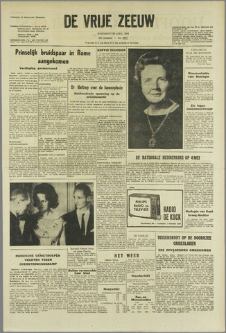 de Vrije Zeeuw 1964-04-29
