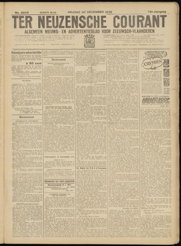 Ter Neuzensche Courant. Algemeen Nieuws- en Advertentieblad voor Zeeuwsch-Vlaanderen / Neuzensche Courant ... (idem) / (Algemeen) nieuws en advertentieblad voor Zeeuwsch-Vlaanderen 1938-12-30