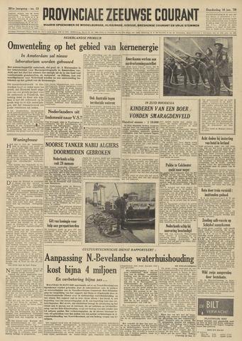 Provinciale Zeeuwse Courant 1958-01-16