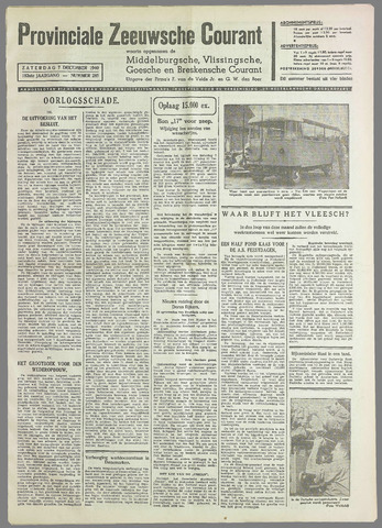 Provinciale Zeeuwse Courant 1940-12-07