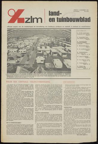 Zeeuwsch landbouwblad ... ZLM land- en tuinbouwblad 1973-12-14