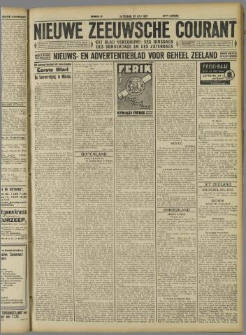 Nieuwe Zeeuwsche Courant 1927-07-23