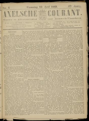 Axelsche Courant 1921-04-13