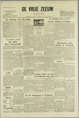 de Vrije Zeeuw 1963-10-07