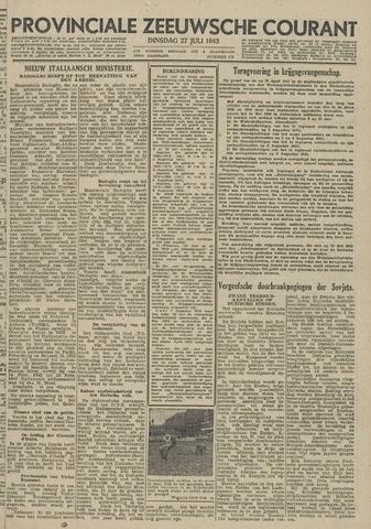 Provinciale Zeeuwse Courant 1943-07-27