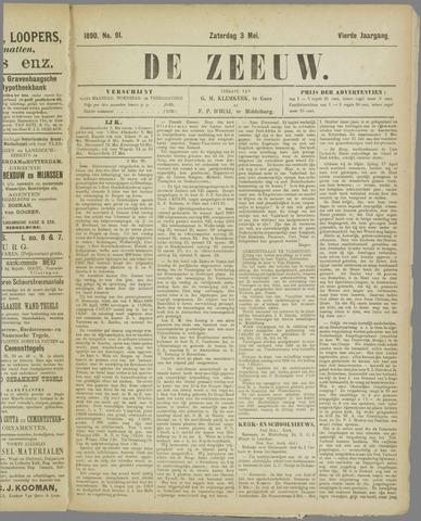De Zeeuw. Christelijk-historisch nieuwsblad voor Zeeland 1890-05-03