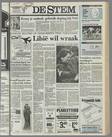 de Stem 1989-01-05