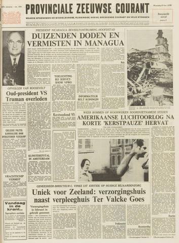 Provinciale Zeeuwse Courant 1972-12-27