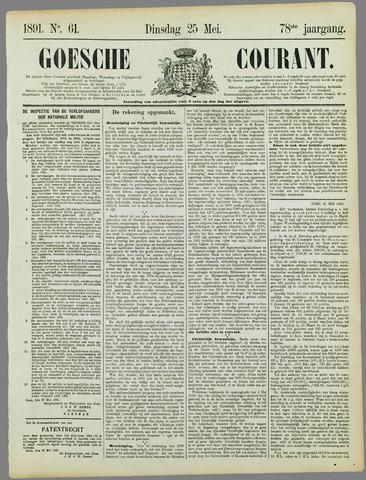Goessche Courant 1891-05-25