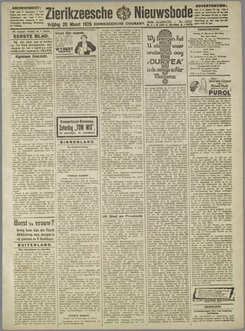 Zierikzeesche Nieuwsbode 1925-03-20
