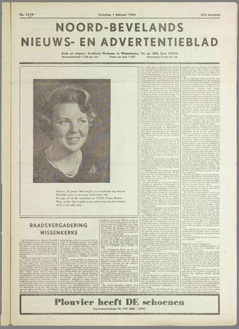 Noord-Bevelands Nieuws- en advertentieblad 1964-02-01