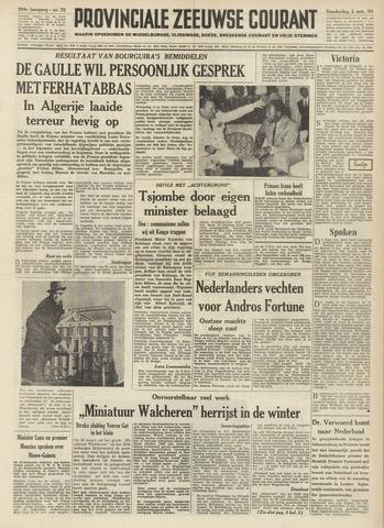 Provinciale Zeeuwse Courant 1961-03-02