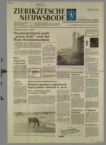 Zierikzeesche Nieuwsbode 1981-02-13