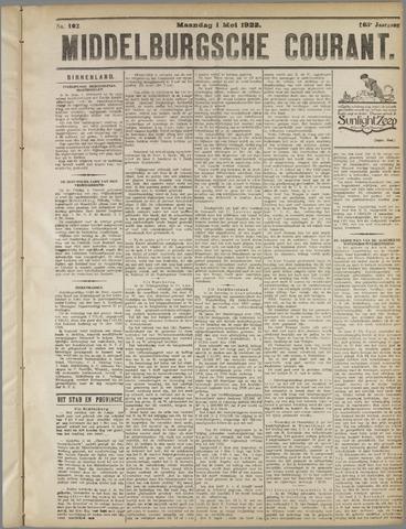 Middelburgsche Courant 1922-05-01
