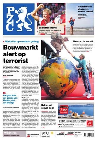 Provinciale Zeeuwse Courant 2016-09-12