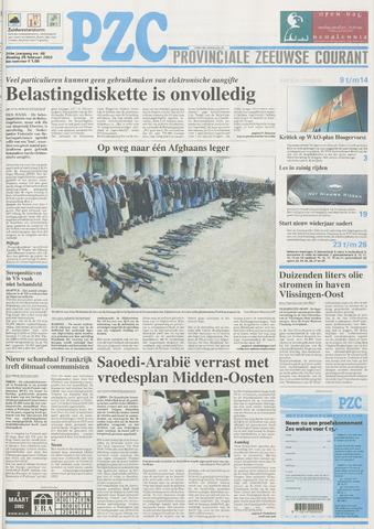 Provinciale Zeeuwse Courant 2002-02-26