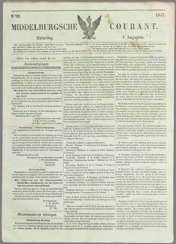Middelburgsche Courant 1857-08-01