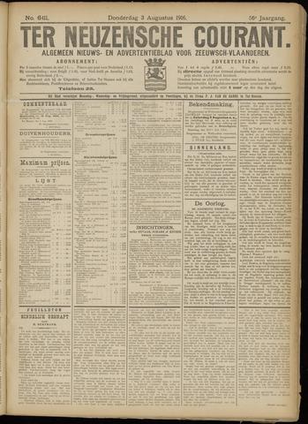Ter Neuzensche Courant. Algemeen Nieuws- en Advertentieblad voor Zeeuwsch-Vlaanderen / Neuzensche Courant ... (idem) / (Algemeen) nieuws en advertentieblad voor Zeeuwsch-Vlaanderen 1916-08-03