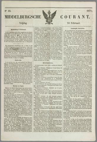 Middelburgsche Courant 1871-02-10