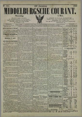 Middelburgsche Courant 1893-05-01