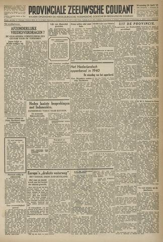 Provinciale Zeeuwse Courant 1946-04-24