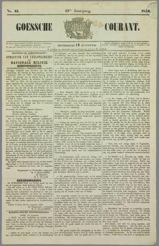 Goessche Courant 1856-08-14