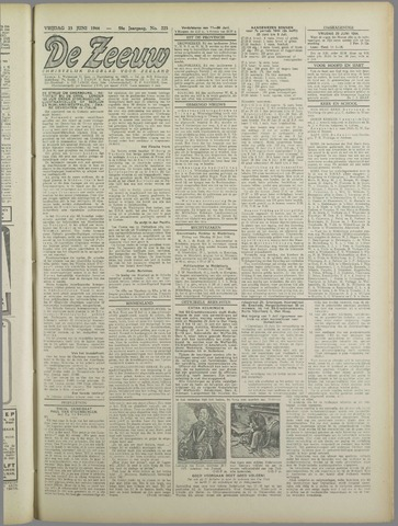 De Zeeuw. Christelijk-historisch nieuwsblad voor Zeeland 1944-06-23