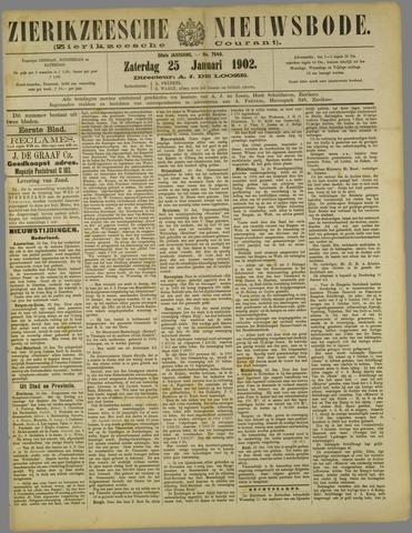 Zierikzeesche Nieuwsbode 1902-01-25