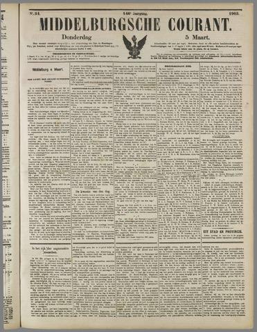 Middelburgsche Courant 1903-03-05
