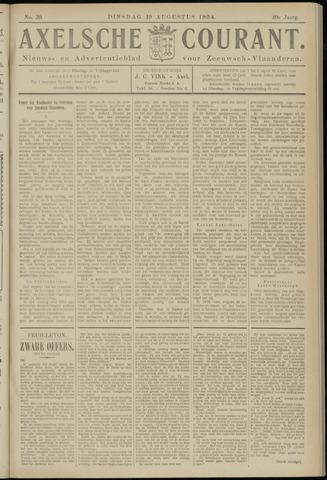Axelsche Courant 1924-08-19