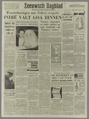 Zeeuwsch Dagblad 1961-12-18