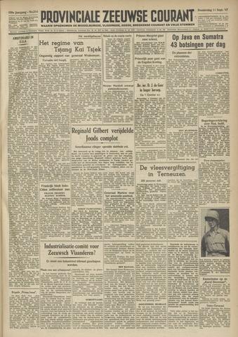 Provinciale Zeeuwse Courant 1947-09-11