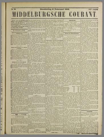 Middelburgsche Courant 1919-02-06