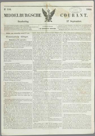 Middelburgsche Courant 1860-09-27
