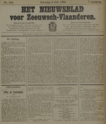 Nieuwsblad voor Zeeuwsch-Vlaanderen 1898-07-09