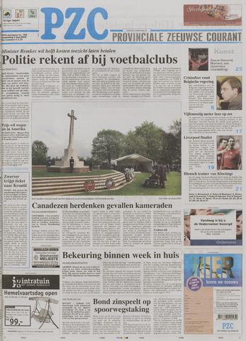 Provinciale Zeeuwse Courant 2005-05-04