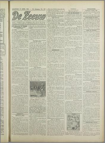 De Zeeuw. Christelijk-historisch nieuwsblad voor Zeeland 1943-04-19