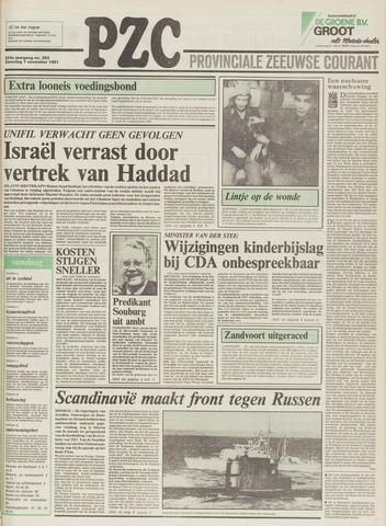 Provinciale Zeeuwse Courant 1981-11-07
