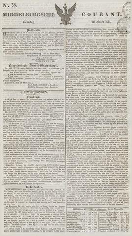 Middelburgsche Courant 1834-03-29