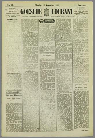 Goessche Courant 1924-08-12