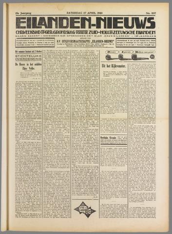Eilanden-nieuws. Christelijk streekblad op gereformeerde grondslag 1940-04-27