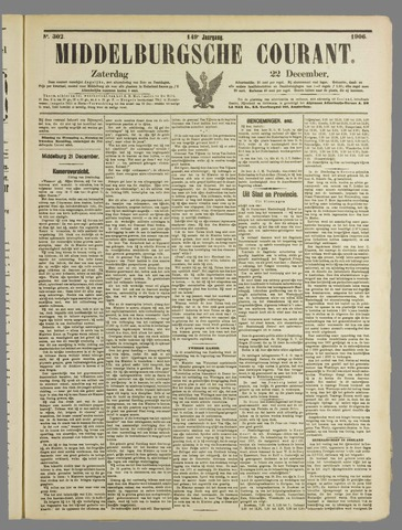 Middelburgsche Courant 1906-12-22